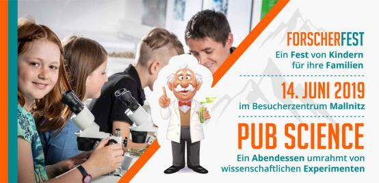 Forscherfest und Pub Science